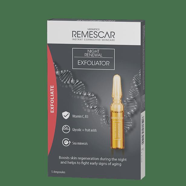 Remescar Packshots Night Renewal Exfoliater MF